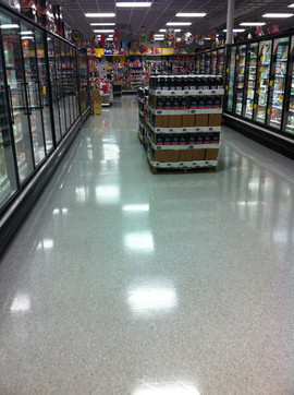 Grocery Store Strip and Refinish
