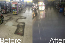 Floor Stripping and Waxing