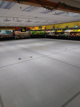 Grocery Store Strip and Wax