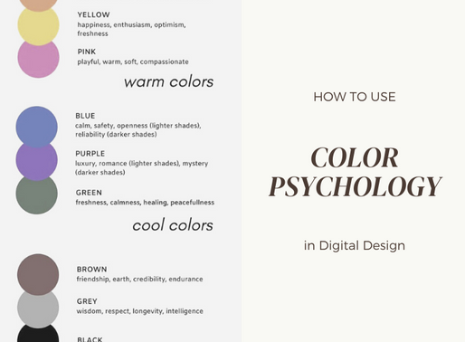How to Use Color Psychology in Digital Design