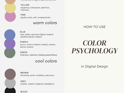 How to Use Color Psychology in Digital Design