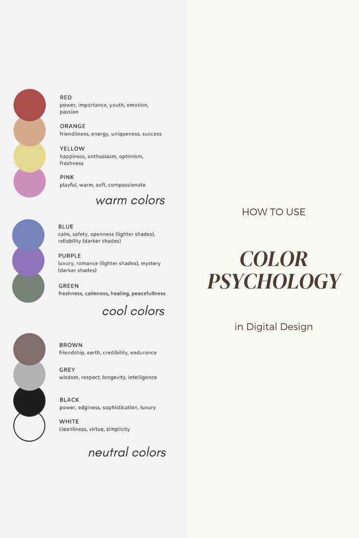 color psychology in digital design habitat society website design