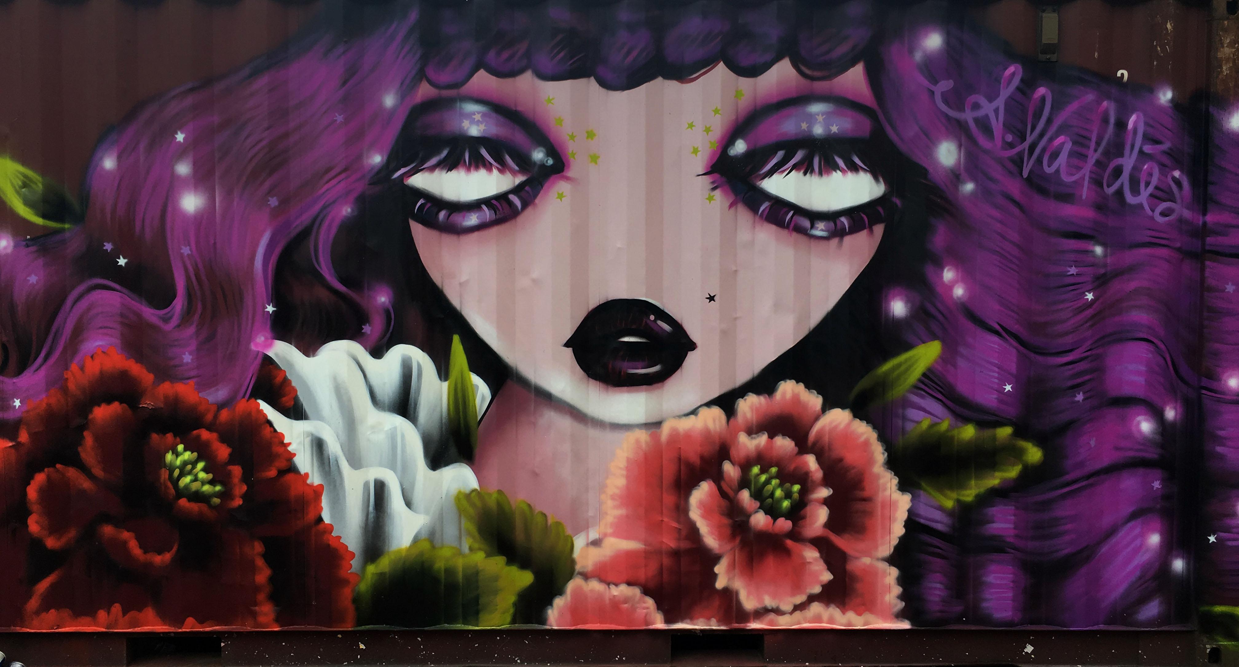 Amanda Valdes Ultra Korea Mural