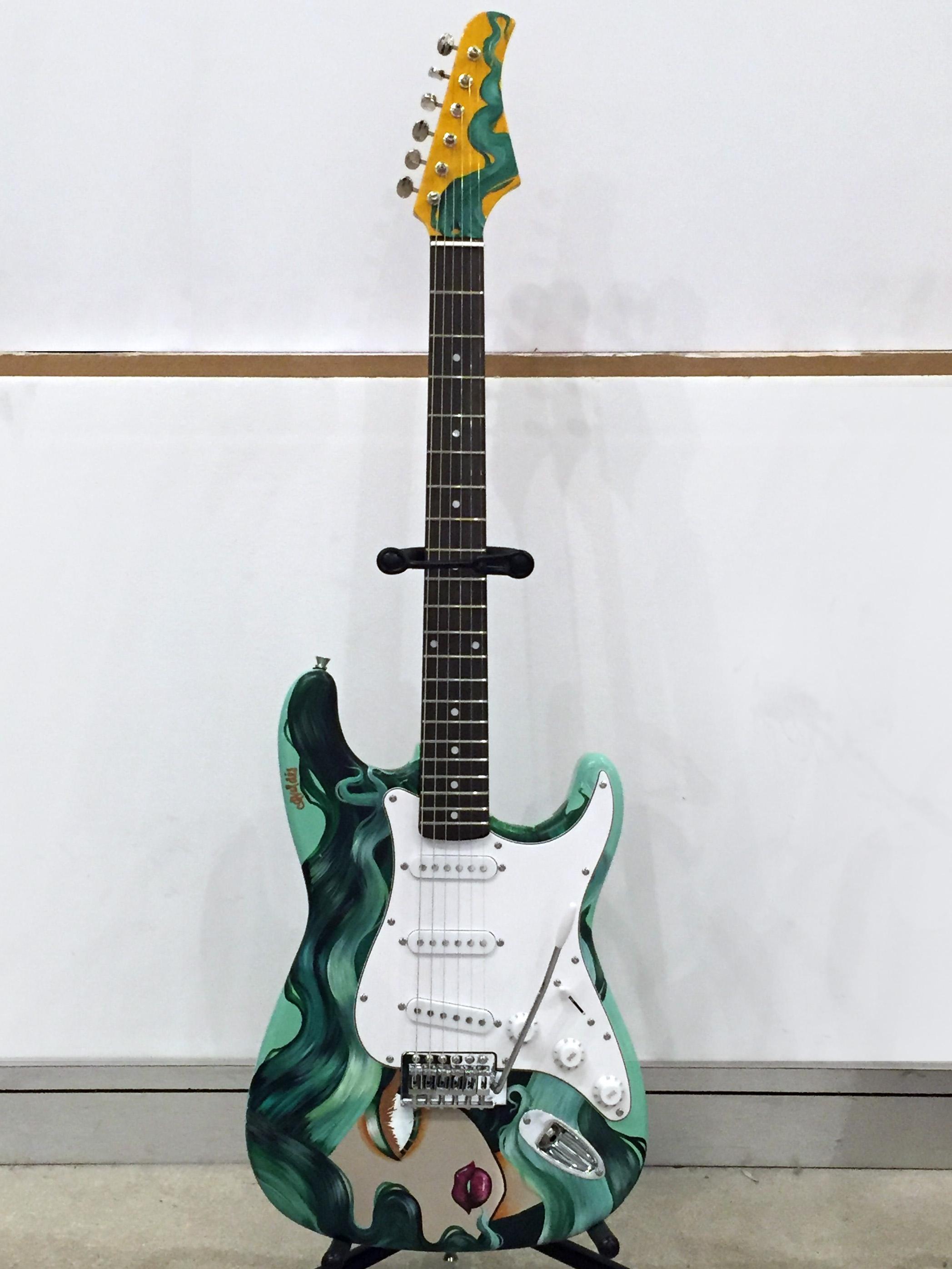 Amanda Valdes FAAM Fender Guitar
