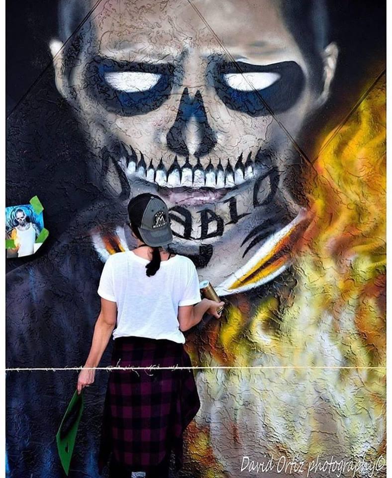 Diablo Mural Suicide Squad Wynwood