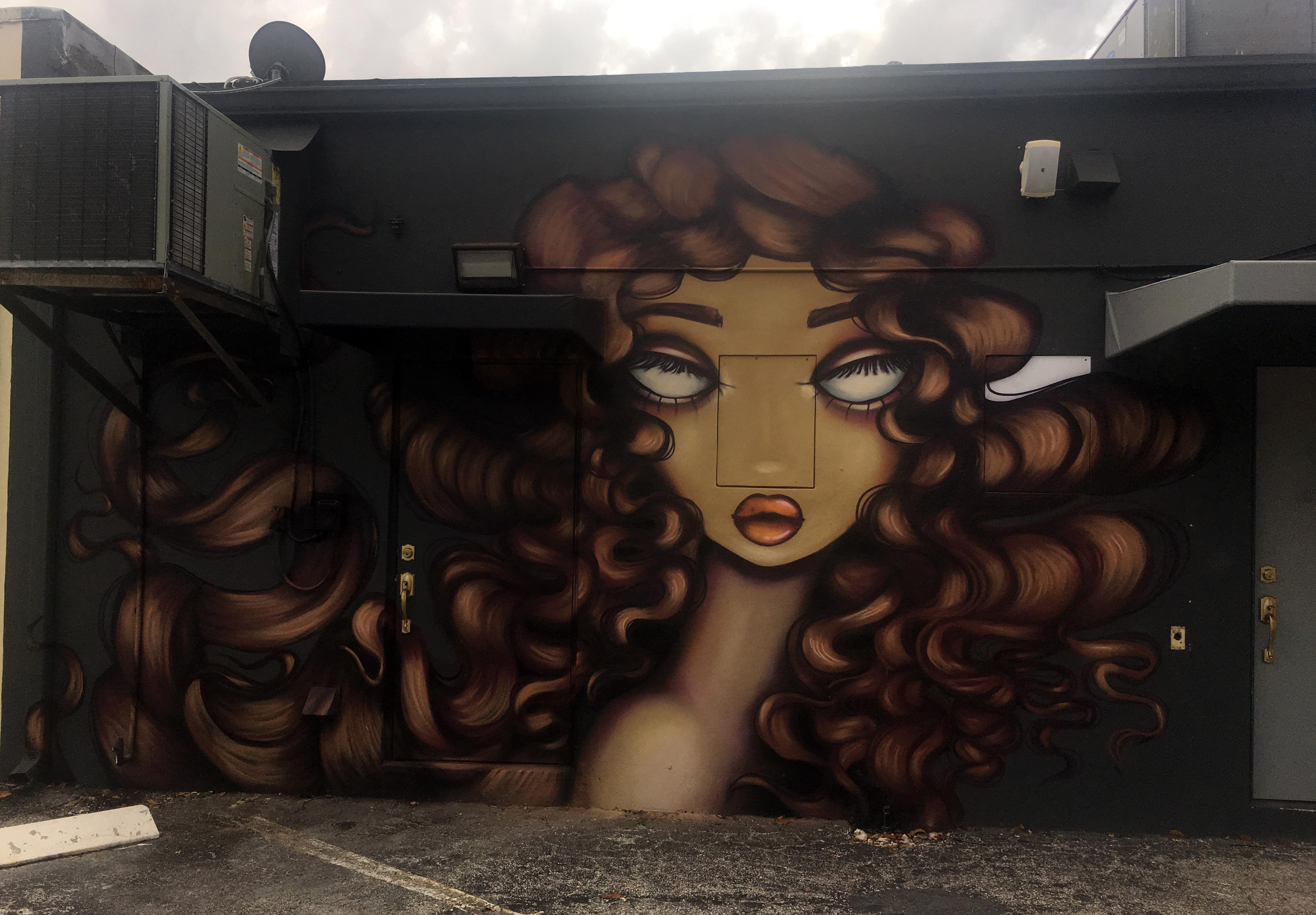 Amanda Valdes Ouidad Salon Mural