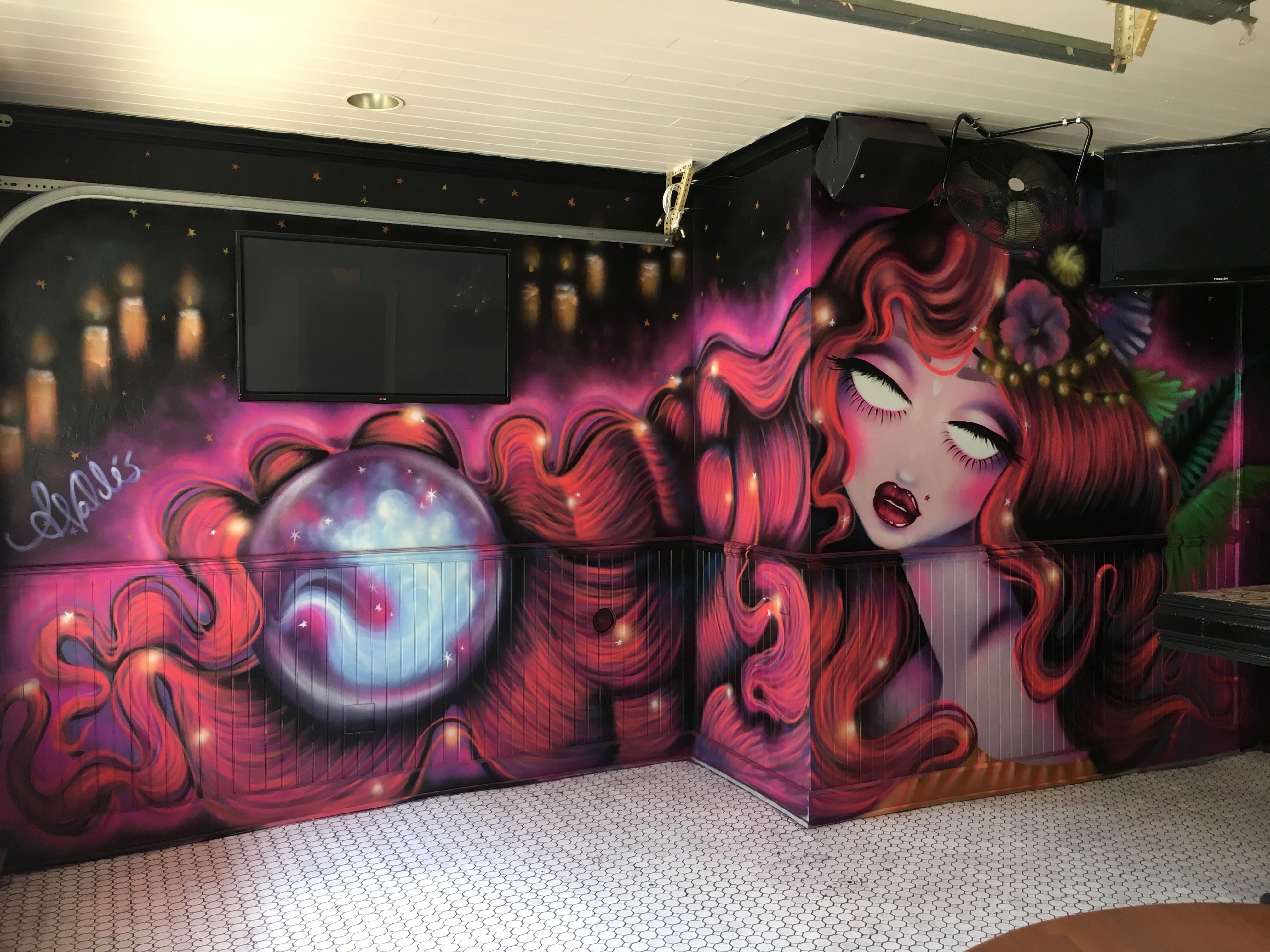 Amanda Valdes West Palm Beach Mural