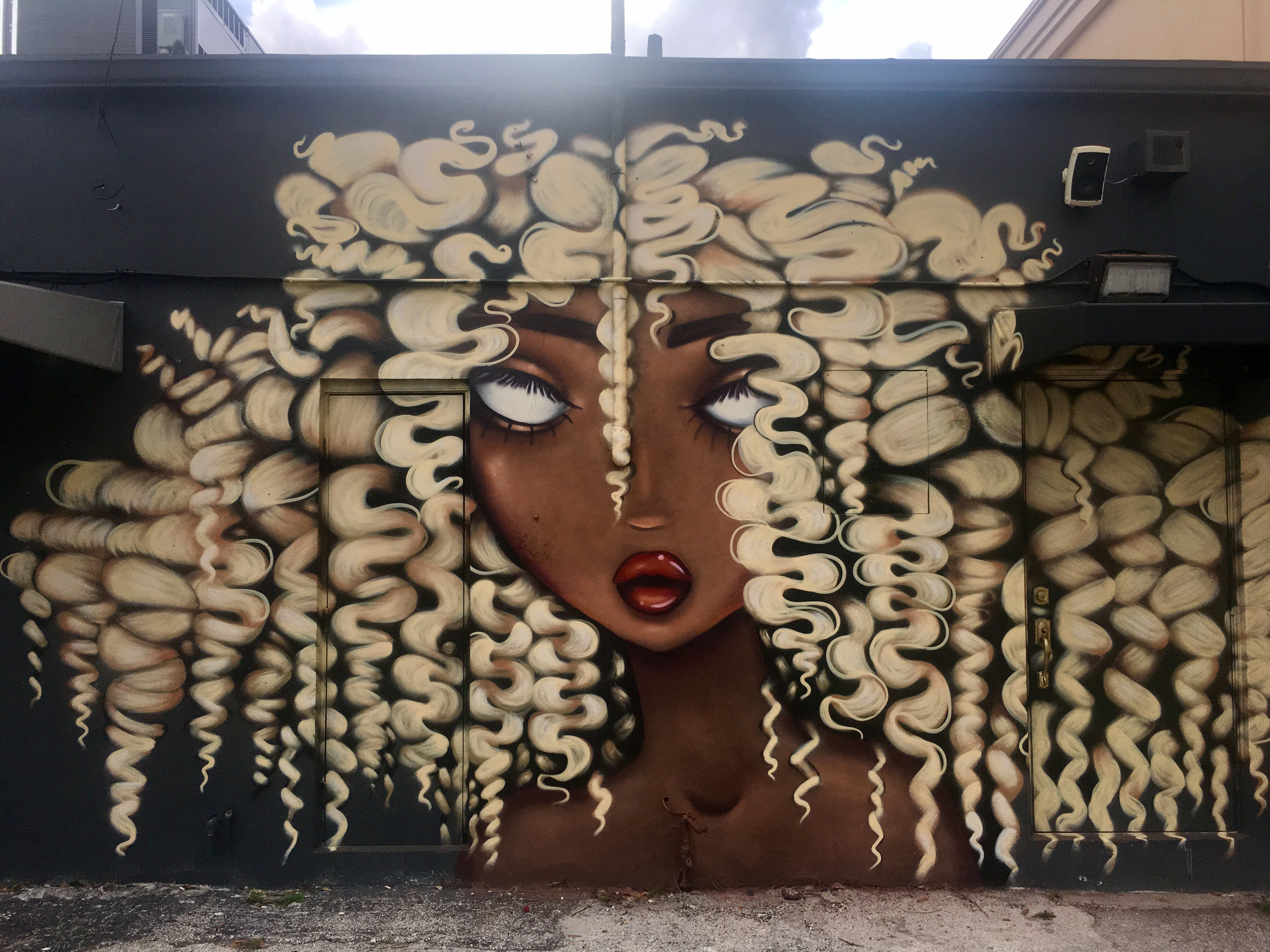 Amanda Valdes Ouidad Mural