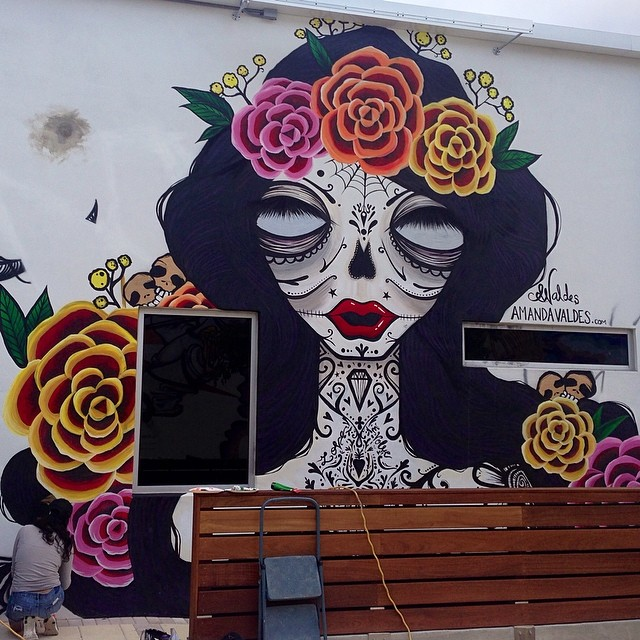 Day of The Dead Mural, 2014