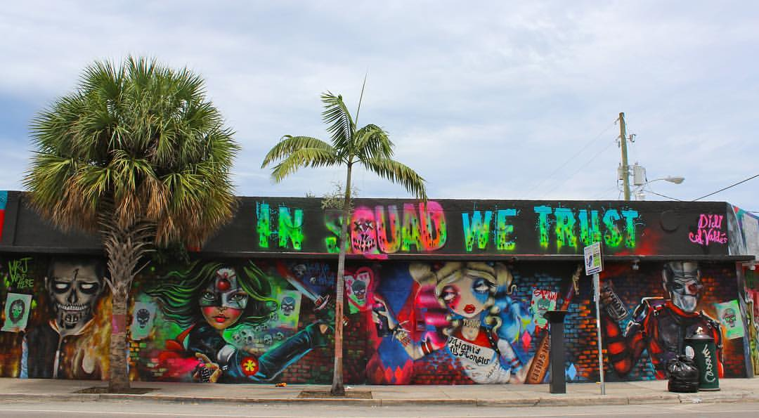 Suicide Squad Street Mural Wynwood