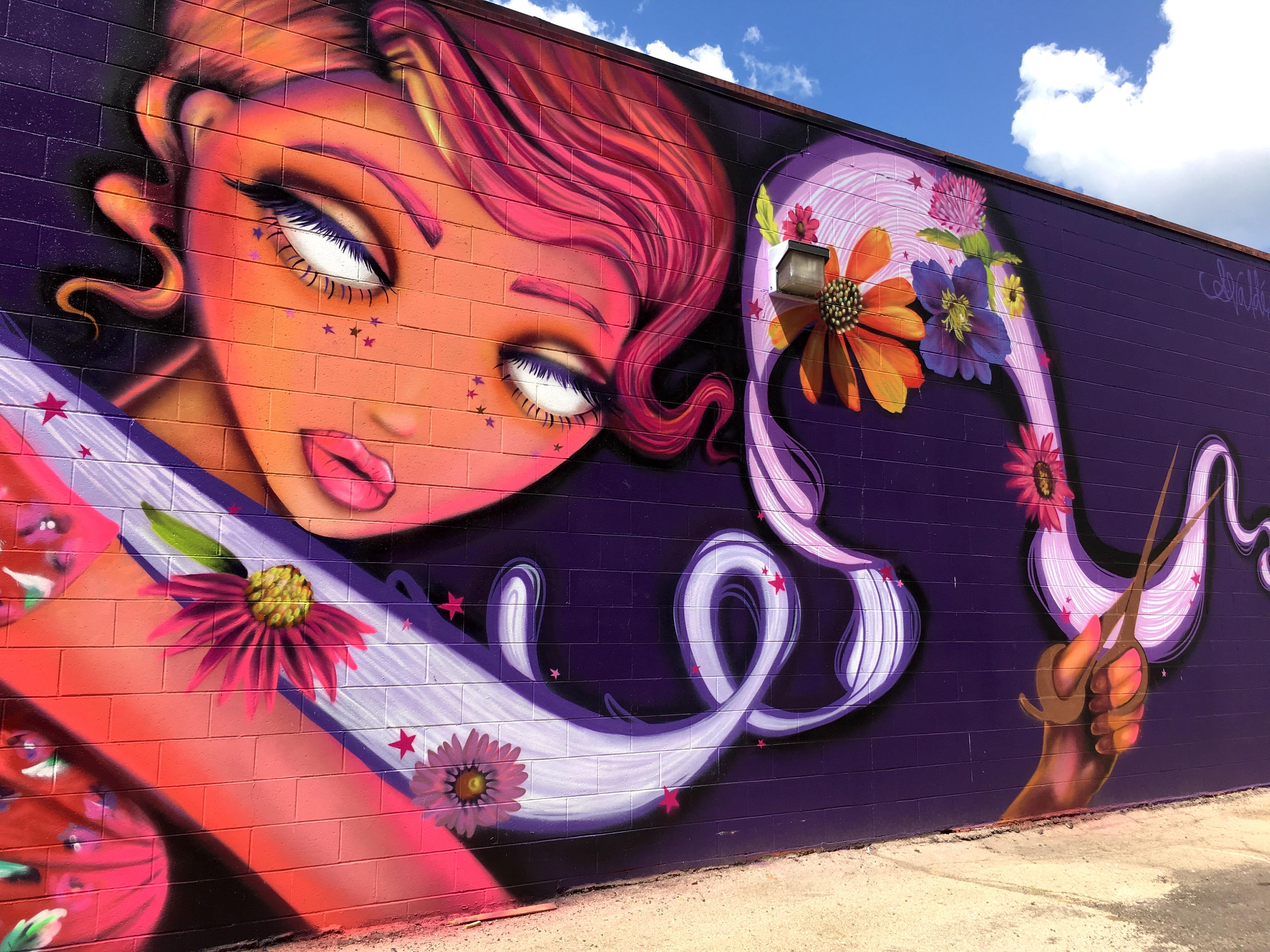 Amanda Valdes Iowa Street Art