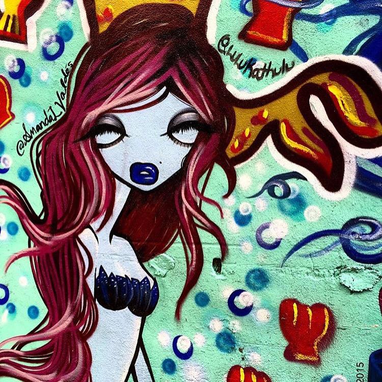 Montreal Mermaids Mural, 2015