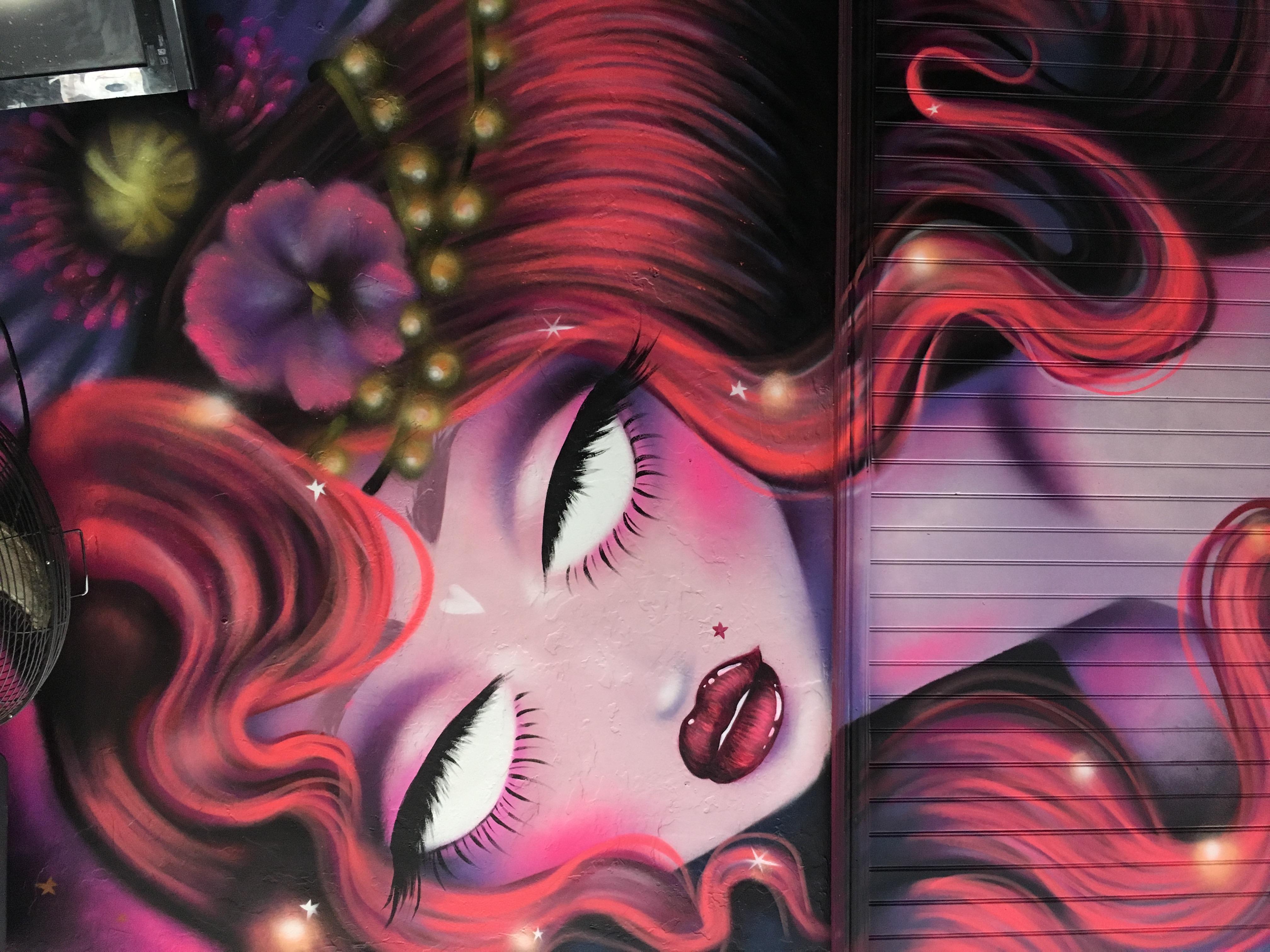 Amanda Valdes West Palm Mural