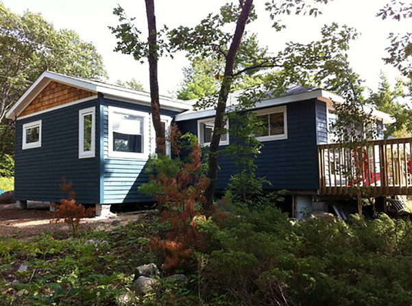 SIDE VIEW, LITTLE COTTAGE