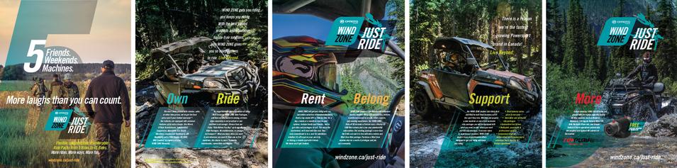 JUST RIDE Print Ad, Autumn, 6 Page Spread - UTV Planet Magazine