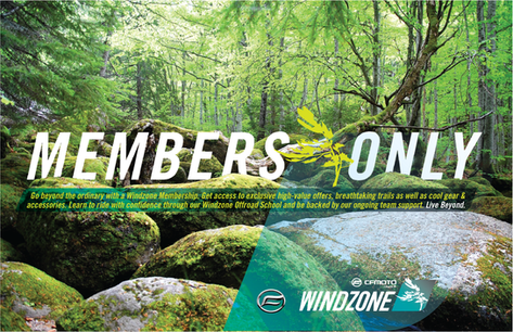 WIND ZONE MEMBERSHIP Campaign