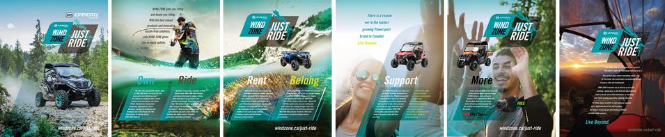 JUST RIDE Print Ad 7 Page Spread - UTV Planet Magazine