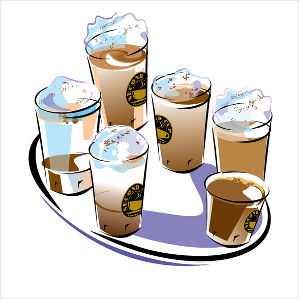 SECOND CUP COFFEE Co. Illustration