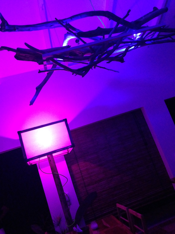 BAMBOO ROOM LIGHTING