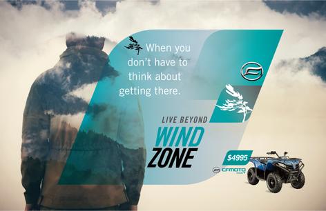WIND ZONE Brand Identity