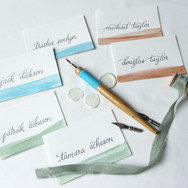 Custom Watercolour Place Cards