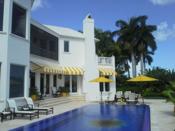 Yellow white custom awnings.jpg
