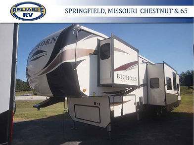 RV slide out awning top