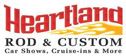Heartland Rod & Custom 2010 single logo.