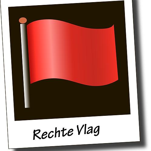 rechte vlag