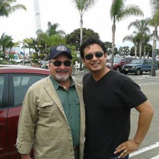 With Edward Dolbashian