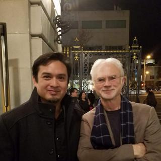 With John Adams