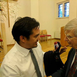 WIth Herbert Blomstedt