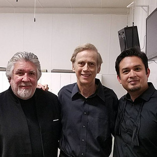 With Andres Cardenes and Yizhak Schotten