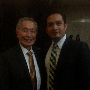 With George Takei