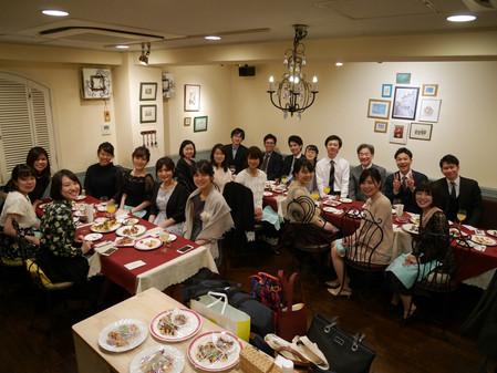 2018.3 謝恩会〜高級なフランス料理