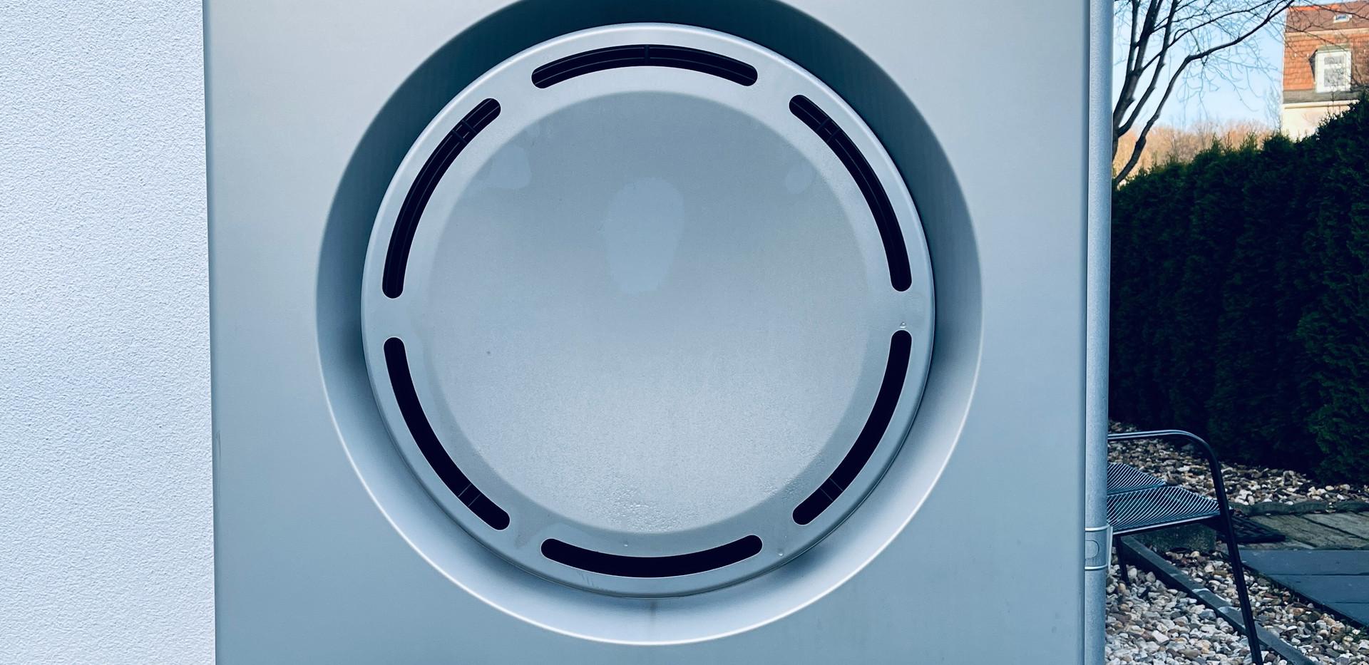 Luft-Wasserwärmepumpe Anlage