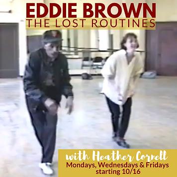 Eddie Brown Lost Routines flyer 3B.png