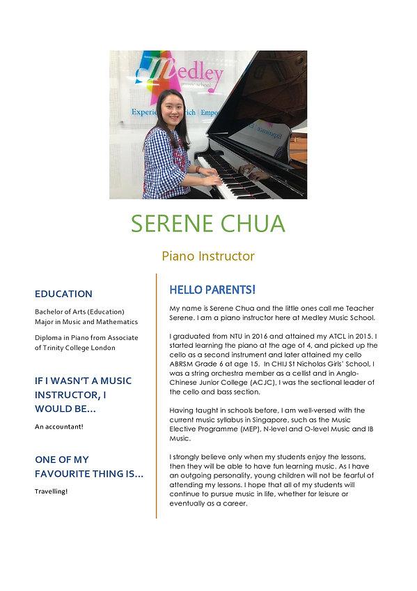Medley Music School Piano Keyboard Teacher