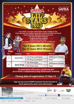 SAFRA Lil Stars 2013