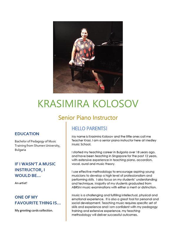 Medley Music School Piano Keyboard Senior ExperiencedTeacher