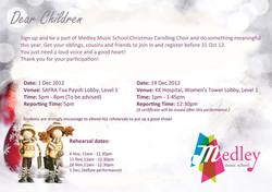 Christmas Carolling 2012