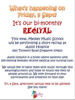 Assisi Hospice Recital