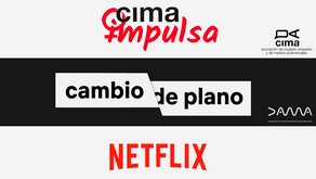 DOS CONVOCATORIAS PARA GUIONISTAS CON LA PARTICIPACIÓN DE NETFLIX, CIMA & DAMA