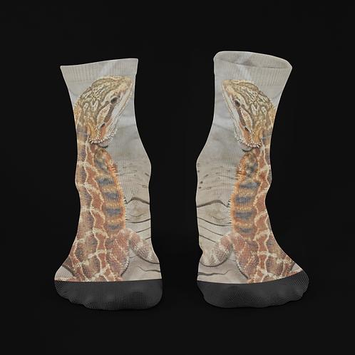 Amalthea - The Bearded Dragon - Crew Socks