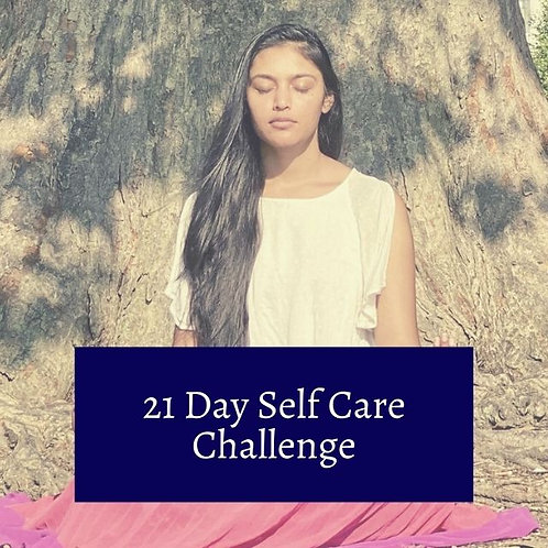 21-day self care challenge
