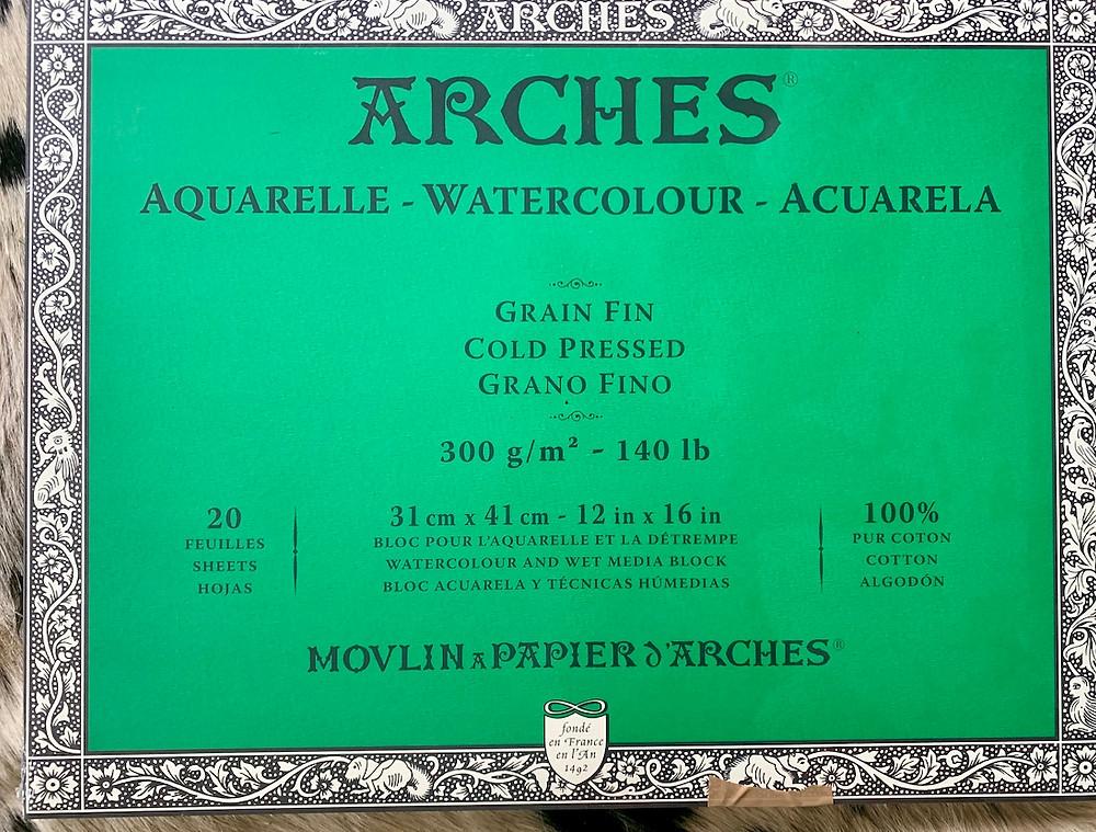 Arches Aquarelle