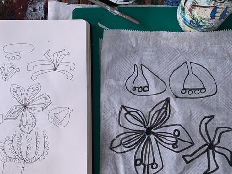 Inktense Florals & Shapes
