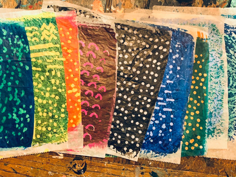 Textures with Masking Fluid