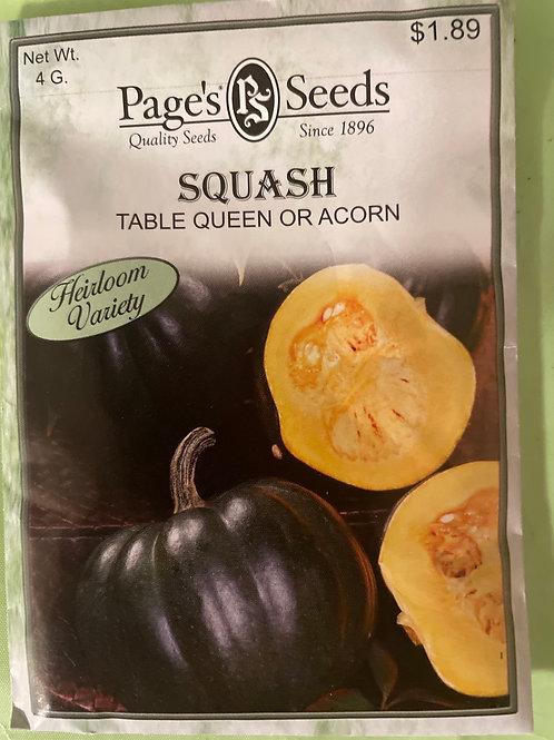 Acorn Squash-Table Queen