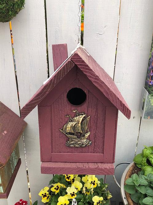 Ship Birdhouse